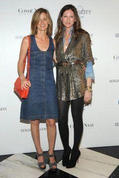 Amanda Brooks and Jenna Lyons