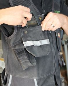 A Carpenter's Tool Vest - Tools of the Trade