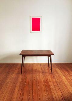 Esstisch Teak Danish Modern Design Mid Century 50er 60er in Antiquitäten & Kunst, Design & Stil, 1960-1969 | eBay