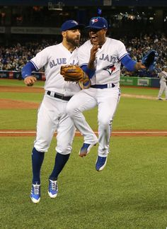 Stroman & Pillar Kevin Pillar, Sports Baseball, Softball, Marcus Stroman, Vancouver Canucks, Go Blue, Toronto Blue Jays, Hockey, Blue Bird