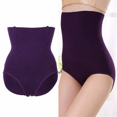 81332f930d Women High Waist Shaping Panties Breathable Body Shaper Slimming Tummy  Underwear  fashion  clothing