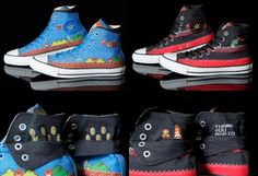 25th anniversary Super Mario Bros Chuck Taylor sneakers to be released by Converse in July