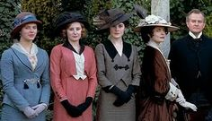Downton Abbey. My interest in hats is growing.