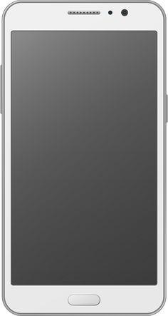 휴대폰(스마트폰) 벡터 이미지입니다.   cellphone(smart phone) vector image