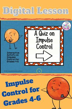 Impulse Control | DIGITAL | Social and Emotional Lessons | Distance Learning | Digital | Interactive | Games | Life Skills | School Counseling | 4th Grade | 5th Grade | 6th Grade | Lesson Plans | Activities | Elementary | Guidance | Kids | Students | School Counselor | SEL | Curriculum | Social and Emotional Learning | Emotions | Feelings | Social Interactions | Social Skills | Decision-Making | Social Emotional Activities, Social Skills Lessons, Social Skills For Kids, Social Skills Activities, Teaching Social Skills, Life Skills, School Counselor Lessons, Elementary School Counseling, Resource Teacher