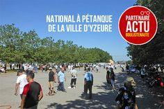 """""""National à pétanque de la Ville d'Yzeure 8 & 9 juillet - Partenaire ACTU"""" - Lire"""