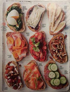 Martha Stewart Magazine Party Toast Toppers