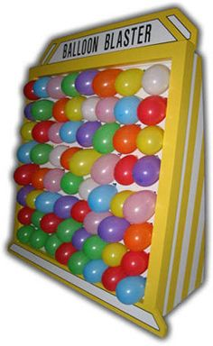 Throwing a dart at a balloon is a classic carnival game that tests the aim and patience of the player. Church Carnival Games, Diy Carnival Games, Circus Carnival Party, Carnival Birthday Parties, Birthday Party Themes, Carnival Ideas, Circus Theme, Balloon Pop Game, Party Fair