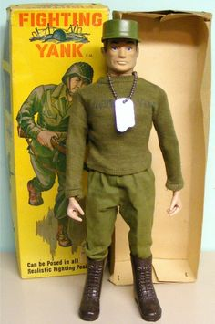Fighting Yank Action Figure | Action Figures | Sugary.Sweet | #ActionFigure #Toy