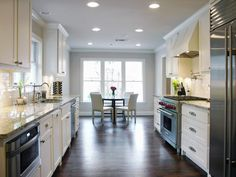 Galley Kitchen Remodel pictures of beautiful kitchen designs & layouts from | layout
