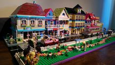 Lego Friends street | Pretty much done and ready for display… | tikitikitembo | Flickr