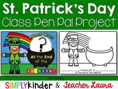 Our St. Patrick's Day Class Pen Pal Project is all planned out!!! Are you going to going?