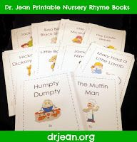 Dr. Jean & Friends Blog: NURSERY RHYME PACKET