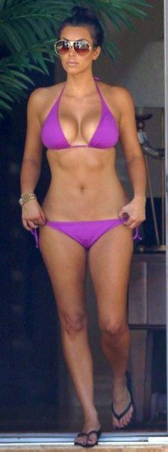 I'd like to wear a skinny bikini like this someday