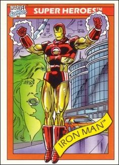 Trading cards from comic books, including Marvel, DC Comics, Image and more. Marvel Comic Books, Marvel Characters, Comic Books Art, Comic Art, Book Art, Marvel Wolverine, Marvel Dc, Super Iron Man, Dazzler Marvel