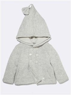Seriously, this baby's knit jacket makes me want to have another baby just to dress her ... $60