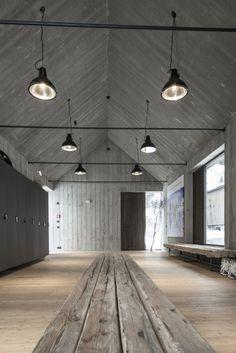 Hotel Wiesergut, erglemm, Austria: Gogl Architekten, this would make an amazing ceramics studio