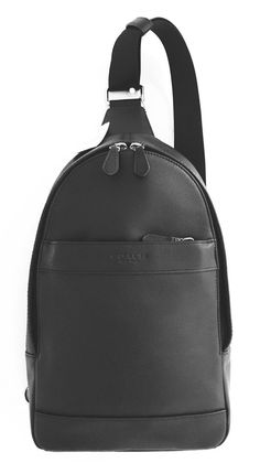 c709cf08b0a86e Coach Mens Leather Shoulder Crossbody Bag Charles Pack Backpack Black  F54770 Coach Backpack, Coach Wallet