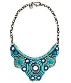 Matthew Williamson necklace-cobalt-blue