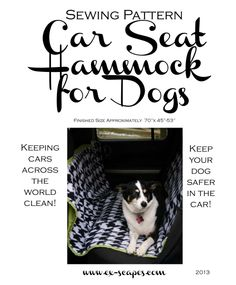 Car Seat Hammock For Dogs Pattern