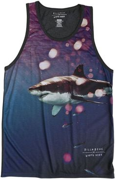 for SHARK WEEK: BILLABONG X WHITE MIKE POTION TANK > Mens > Clothing > Tanks | Swell.com