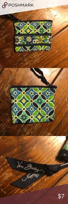 Vera Bradley Coin Purse Near perfect condition! Hasn't faded or lost it's shape. Works great! I've had it for a while, but only used a couple times. Good for holding spare change, bills, cards, and more! Vera Bradley Bags Wallets