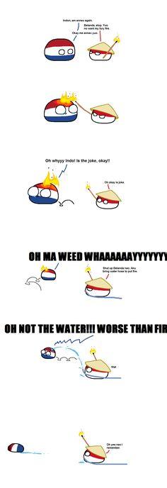 Is Worst Mistake ( Indonesia, Netherlands ) by Scub_  #polandball #countryball