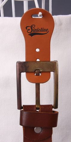 Sinicline new product: leather belt hanger. Email at snhanger@sinicline.net if you are interested. #belthanger #leather