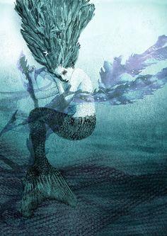 Susannah Lovegrove Mermaid Illustration - Artist Partners