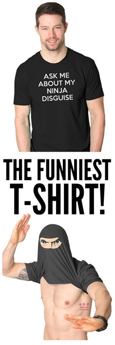 This shirt makes me laugh so hard! Definitely a great gift for a husband, brother, or dad!