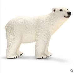 Classic Animal Model Howling wolf Little lamb Polar bear Otter Cobra Python Classic Simulated animal Children's Toys