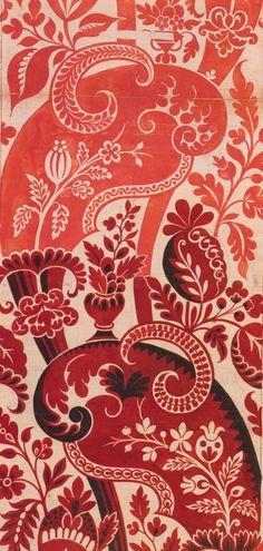 James Leman, silk design, 1717   Watercolor on paper.  James Leman (c.1688-1745)
