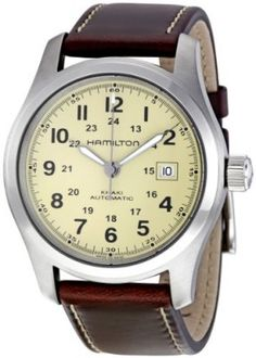 Relógio Hamilton Men's H70555523 Khaki Field Automatic Watch #Relógio #Hamilton