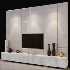 Modern Tv Room, Modern Tv Wall Units, Modern Tv Cabinet, Tv Cabinet Design, Tv Wall Design, Tv Unit Furniture Design, Tv Unit Decor, Classy Living Room, Tv Wand