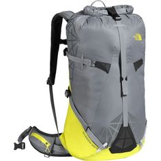 Light when you need to be, fully featured when you don't, and burly all the time, The North Face's Shadow 40+10 Backpack is a peak bagger's dream. Designed to handle all sorts of conditions and objectives, its tough roll-top design accommodates up to 50L of gear, so you can be prepared for the unknown, but cinches and compresses down to 40L if you're more interested in traveling light.