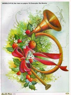 pintura de navidad de bia moreira | Revista que a Sonia nos enviou... Linda!!