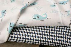 Thar She Blows Fabric Bundle  1 YARD by XOgigi on Etsy, $17.98 * BABY MAX*