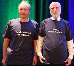 Vint Cerf & Tim Berners-Lee