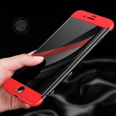 Ultra Thin 360 Full Protective Case For Apple iPhone 6 6S 7 Plus 5 5S Phone Case 3 In 1 Design For iphone 6 Matte PC Back Cover #Affiliate