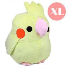 Kawaii plushies XL Cockatiel Plush — $25.40