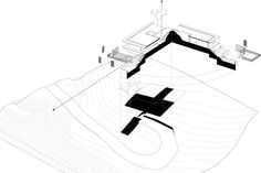 Exploded Axonometric  The Riparian House, Karjat - Architecture BRIO, Mumbai / India