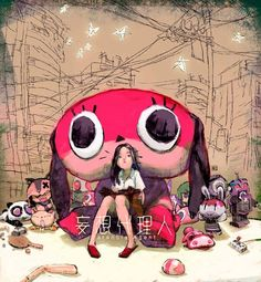 """Paranoia Agent"" by Toni Infante* • Blog/Website 