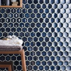 Japanese Tile Blue H