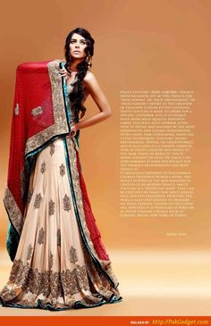 Perfect, Beautiful and Stunning are the words used for this haute couture and bridal wear from the top brands of Asian fashion industry, these awesome traditional wear would be the best seasonal wear for sure.
