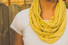 the winthrop chronicles: braided scarf