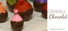 Je vous invité à découvrir la technique de réalisation d'un nid, coupelles ou bol en chocolat avec le ballon de Baudruche. Une méthode facile et rapide pour un joli dessert.