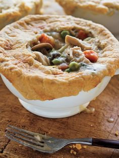 A fall meal I've never tried to make myself: Chicken Potpie