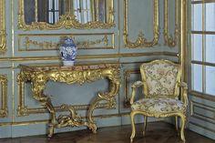 Vorzimmer des Appartements von Herzog Carl Eugen auf Schloss Solitude