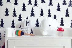 Megan: Love this wall paper for kids' room.