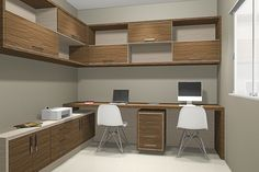 Trendy Home Office Pequeno Nicho 47 Ideas Corporate Office Design, Office Interior Design, Office Interiors, Home Office Organization, Home Office Decor, Study Table Designs, Ikea Bar, Home Icon, Trendy Home